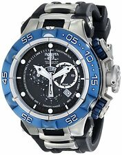 12881 Invicta Men 50mm Subaqua Noma V Swiss Quartz Chronograph Black Strap Watch