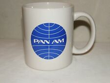 PAN AM AIRLINE COFFEE CUP MUG AIRPLANE PAN AMERICAN PILOT FATHERS DAY GIFT