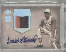 2005 UPPER DECK 1 OF 1 FRANK ROBINSON AUTO AND 2 COLOR PATCH A REAL NICE 1/1