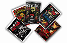 GUNS N ROSES - SET OF 5 A4 POSTERS # 1