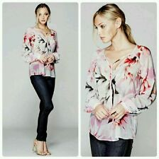 ���� GUESS BY MARCIANO FREE FLORAL BLOUSE ����