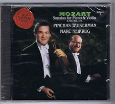 ZUKERMAN NEIKRUG CD NEW MOZART SONATAS K 301,306,378 VOL.3