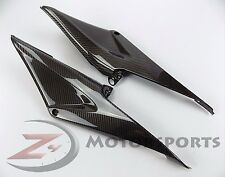 2005 2006 Honda CBR600rr Gas Tank Side Trim Cowling Fairing 100% Carbon Fiber