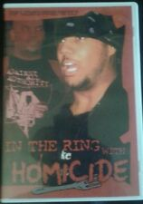 IN THE RING WITH HOMICIDE Shoot Interview  RF Video ROH CZW ECW TNA WWE Training