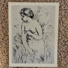 Renoir - Etching - limited edition - COA