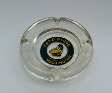 Yard Birds Glass Ashtray Chehalis Olympia Vintage Surplus Store