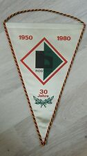 Banderín 30 años TSG construcción rostock DFV DDR Liga 1980 futbol hansa rostock distrito