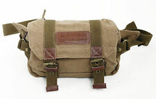 New!! Hemp Canvas DSLR Camera Waist Bag for Sony Canon Nikon Pentax Lumix GX7