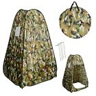 Portable Pop UP Fishing & Bathing Toilet Changing Tent Camping Room Camouflage