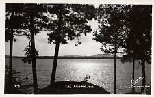 Carte Photo LAC BROME Montérégie Quebec Canada 1940-50 Photo Légaré RPPC C-3