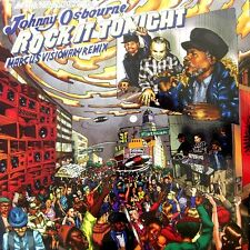 "Johnny Osbourne ‎– Rock It Tonight Marcus Visionary RAGGA JUNGLE 12"" LP LIONDUB"