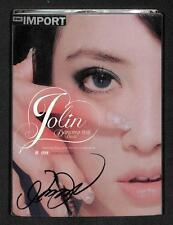 Taiwan Jolin Tsai Cai Yi Lin Autograph Sign Taiwan CD + DVD FCB1173