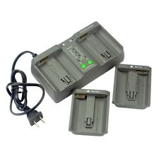 DSTE MH-26A Dual Battery Charger For Nikon EN-EL18 LP-E4 Battery