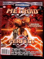 METROID PRIME Perfect Guide Brand NEW GameCube VERSUS BOOKS 52 Game Strategy