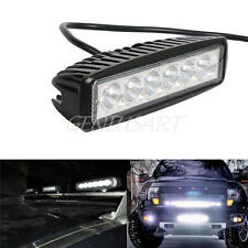 6 INCH 18W Cree Led Flood Spot Combo Work Light Bar Offroad Car 4WD Ellip Beam