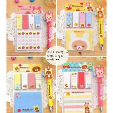 Pads Cute Paper Removable Adhesive Memo Post It  Bear Sticky Notes