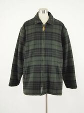 1980s L.L. BEAN Vintage Wool-blend Hunting Outdoor Zipper Coat Mens XL