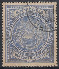 Antigua 1908 fine used Mi.29 König Edward VII Siegel Seal [sq7010]