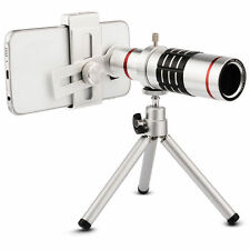 18x Zoom Mobile Phone Lens Universal Telescope Camera Telephoto Lens with Tripod