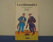 LES IDIOMATICS (FRANÇAIS-ESPAGNOL) DRAWINGS BY NESTOR SALAS/TEXT BY G. BLUM 1989