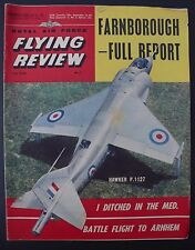 VINTAGE ROYAL AIR FORCE FLYING REVIEW MAGAZINE NOVEMBER 1962 HAWKER P.1127