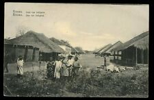 Portugal Guinea BISSAU native village street & children early PPC 1907