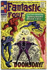FANTASTIC FOUR #59, FN/VF, InHumans, Jack Kirby, 1961, more FF in store, QXT