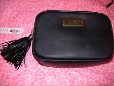 Victoria's Secret Black Crossbody Bag Clutch With Strap NEW!! Christmas Gift WOW