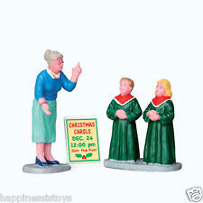 Coventry Cove Lemax Christmas Village Figurine High Notes ACCESSORIES FIGURINES