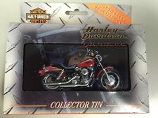 NEW- 1999 HARLEY DAVIDSON COLLECTOR TIN WITH 2 DECKS OF PLAYING CARDS