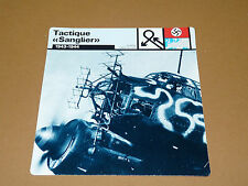 TACTIQUE SANGLIER 1943-1944 JUNKER JU 88 LUFTWAFFE AVIATION FICHE WW2 39-45