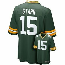 ($100) NIKE Green Bay Packers BART STARR nfl THROWBACK Jersey ADULT MEN'S (L)