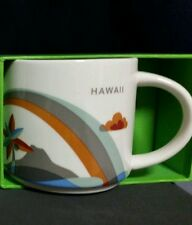 "Starbucks Mug Hawaii ""You are here"" 14 oz. - Brand New!"