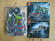Lego Technic 8274 Combine Harvester, 100% complete with instructions, no box