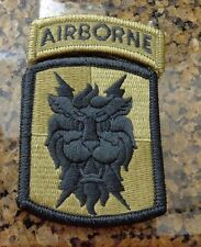 ARMY PATCH, 35TH SIGNAL BRIGADE ,MULTI-CAM,SCORPION, WITH VELCR