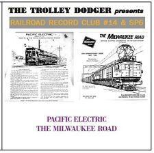 Pacific Electric & Milwaukee Road Audio on CD - Railroad Record Club #14 & SP6