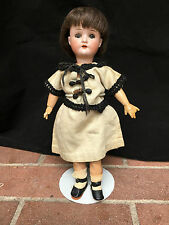Schoenau Hoffmeister Cabinet Sized Antique Bisque Doll 1923 12""