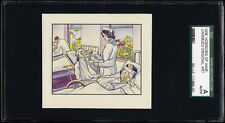 1938 Horrors of War original art  from high-series unissued cards ONLY 6 KNOWN!