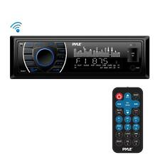 Pyle PLRMR27BTB Bluetooth Marine Receiver Stereo MP3/USB/SD Readers, AM/FM Radio