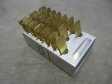 (20) Brass Military Laundry Pins in Aluminum Tray New