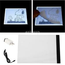 A4 Ultra-thin LED Animation Drawing Stencil Graphics Board Table Pad Light Box U