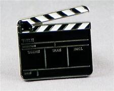 Movie Film Clapper Board High Quality Enamel Pin Badge Lapel Badge