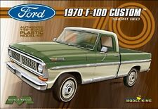 Moebius 1:25 1970 Ford F100 Custom Cab Plastic Model Kit 1228 MOE1228