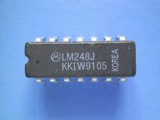 LM248   QUAD OPAMP  ceramic case   MOTOROLA
