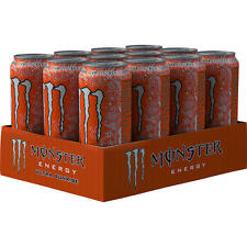 12 dosis de monstruo ultra Sunrise energy drink a 500ml Inc. depósito Energy Drink