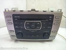 09 10 Mazda 6 AM FM Radio Single Cd MP3 Player GS3L669R0D JB264