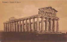 B6415 Italy Paestum Tempio di Cerere
