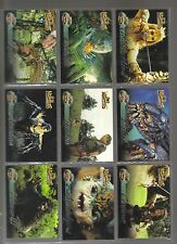 Hercules The Complete Journeys Mythical Beasts 9 card set Rittenhouse 2001 Xena