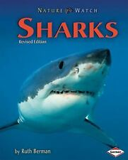 Sharks (Nature Watch (Lerner))-ExLibrary