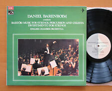 Barenboim Conducts Bartok Music For Strings, Percussion & Celesta EMI SRZ 6433